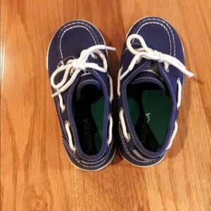 Boys size 11 Nautica shoes